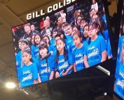 Yoshikai Choir sings at OSU Women's Basketball game on Nov. 21, 2019