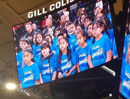 Yoshikai Choir Sings at OSU Beavers Basketball Game!